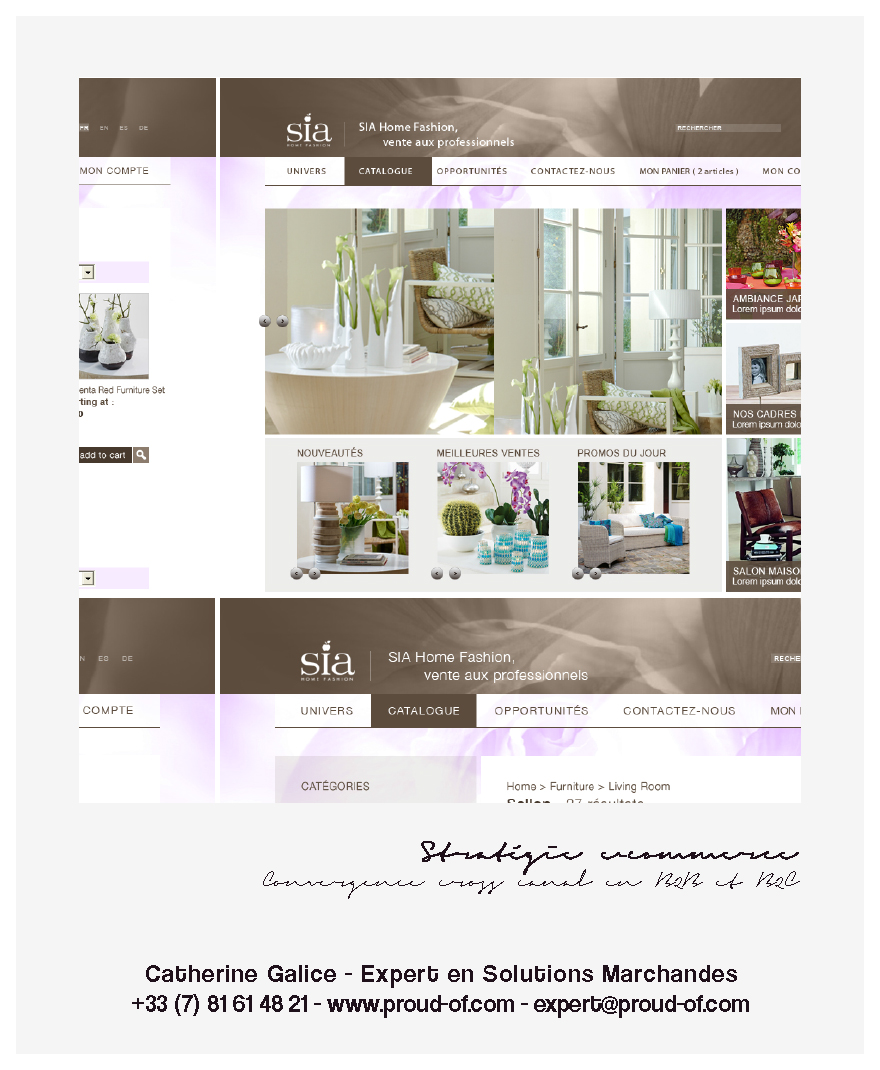 Proud Of - Catherine Galice - e-Portfolio - SIA