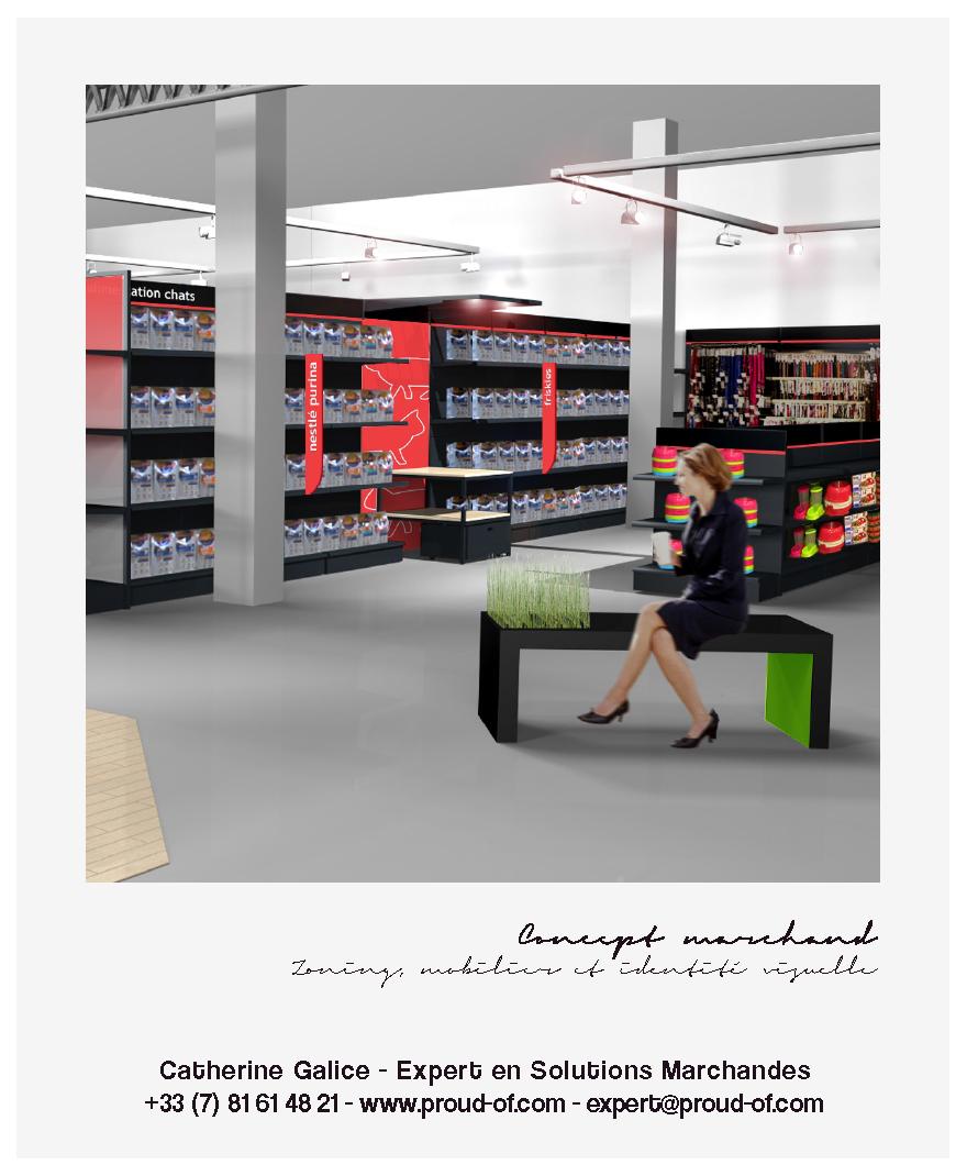 Proud Of - Catherine Galice - e-Portfolio - Jardiland Concept Marchand