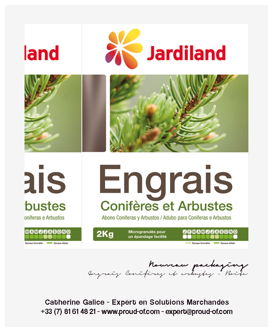 Proud Of - Catherine Galice - e-Portfolio - Jardiland packaging